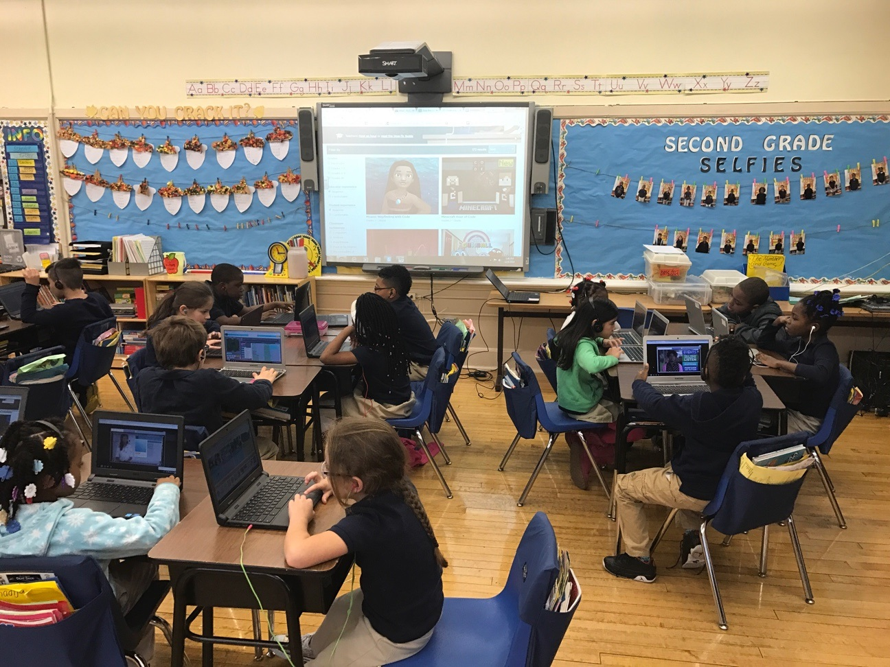 Celebrating Computer Science Education Week with The Hour of Code