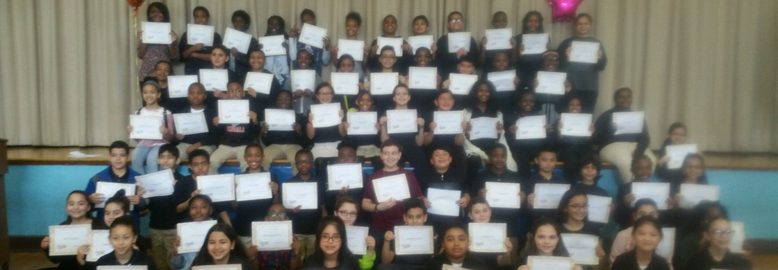 """Congratulations to the Fifth Grade Honor Roll students"""
