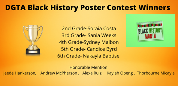 Black History Poster Contest Winners
