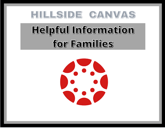 Hillside Canvas Helpful Information for Families