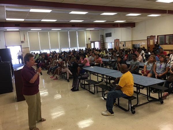 Hillside High School held it's Annual Freshman/New Student Orientation on August 23